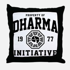 Dharma Initiative Throw Pillow