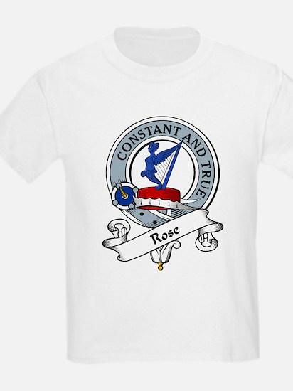 Rose Clan Badge Kids T-Shirt