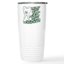 Floss Those Teeth Travel Mug