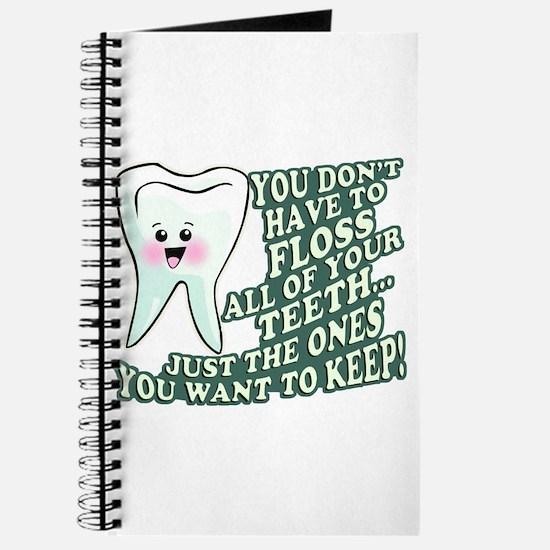 Floss Those Teeth Journal
