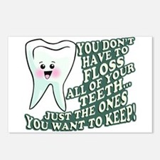 Floss Those Teeth Postcards (Package of 8)