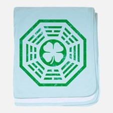 Dharma Luck Green baby blanket