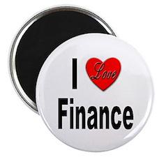 "I Love Finance 2.25"" Magnet (10 pack)"