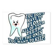 The Teeth You Want To Keep Postcards (Package of 8