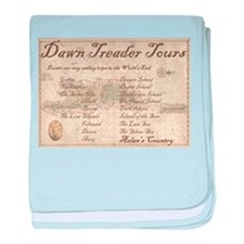 Dawn Treader Tours baby blanket