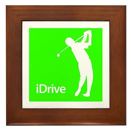iDrive Framed Tile