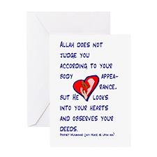 Funny Hadith Greeting Card