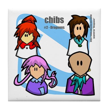 Chibs #2 Tile Coaster