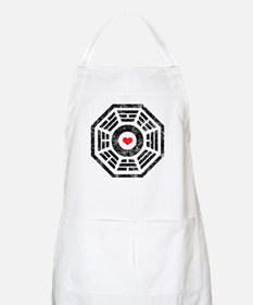 Dharma Red Heart Apron
