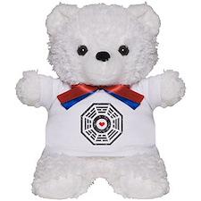 Dharma Red Heart Teddy Bear