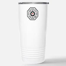 Dharma Red Heart Travel Mug