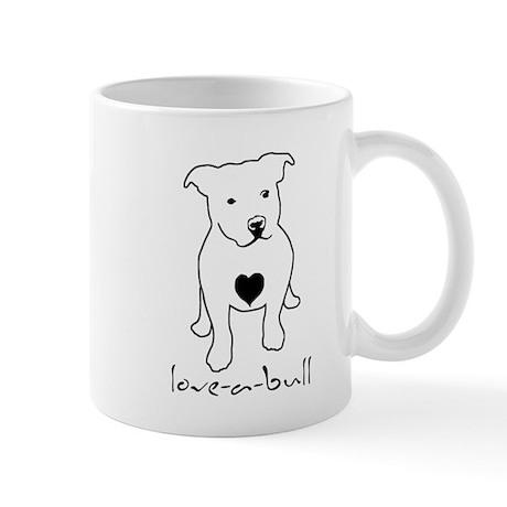 Love-a-Bull Pit Bull Mug