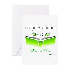 Cute Study hard Greeting Cards (Pk of 10)
