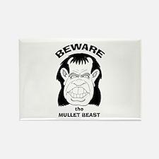 Mullet Beast Rectangle Magnet
