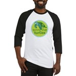 SAVE TURTLES Baseball Jersey