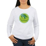 SAVE TURTLES Women's Long Sleeve T-Shirt
