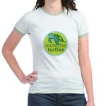 SAVE TURTLES Jr. Ringer T-Shirt