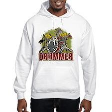 Skeleton Drummer Hoodie