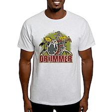 Skeleton Drummer T-Shirt