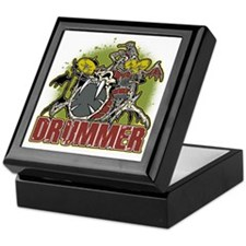 Skeleton Drummer Keepsake Box