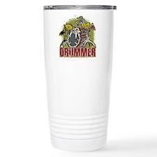 Skeleton Drummer Travel Mug