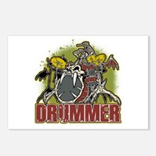 Skeleton Drummer Postcards (Package of 8)