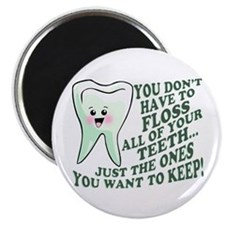 "Encourage Dental Hygiene 2.25"" Magnet (100 pack)"