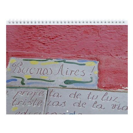 Let's Tango Wall Calendar