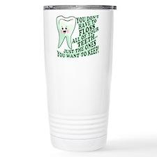 Funny Dental Hygiene Travel Coffee Mug
