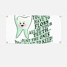 Funny Dental Hygiene Banner