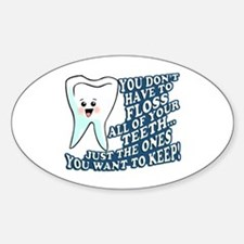 Funny Dentist Hygienist Decal
