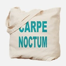 Carpe Noctem Noctum Tote Bag