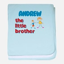 Andrew - The Little Brother baby blanket