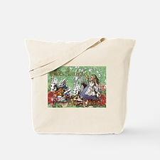 Alice in Wonderland Adventure Vintage Fly Tote Bag
