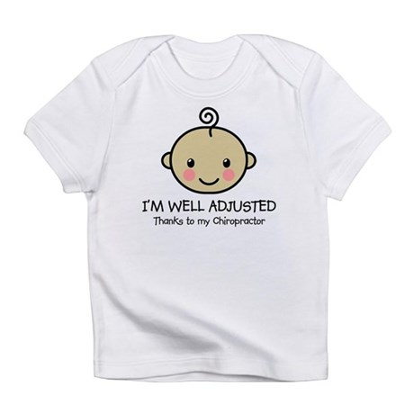 Well-Adjusted Baby (Med) Infant T-Shirt