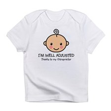 Well-Adjusted Baby (Fair) Infant T-Shirt