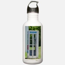 Phone Booth Water Bottle