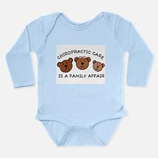 Chiro Bear Family Affair Long Slv Infant Bodysuit