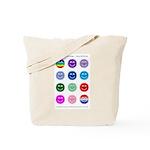 """""""Multi Fuzzy"""" Canvas Tote Bag"""