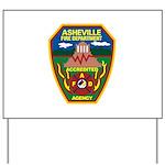 Asheville Fire Department Yard Sign