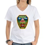 Asheville Fire Department Women's V-Neck T-Shirt