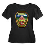 Asheville Fire Department Women's Plus Size Scoop