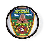Asheville Fire Department Wall Clock