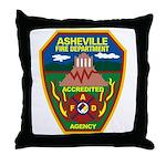 Asheville Fire Department Throw Pillow