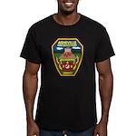 Asheville Fire Department Men's Fitted T-Shirt (da