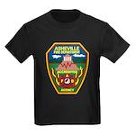 Asheville Fire Department Kids Dark T-Shirt