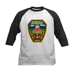 Asheville Fire Department Kids Baseball Jersey