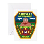 Asheville Fire Department Greeting Cards (Pk of 10