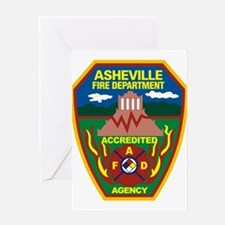 Asheville Fire Department Greeting Card
