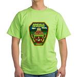 Asheville Fire Department Green T-Shirt